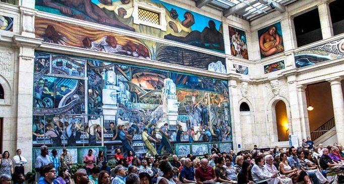 Diego rivera sones de mexico ensemble for Diego rivera mural chicago